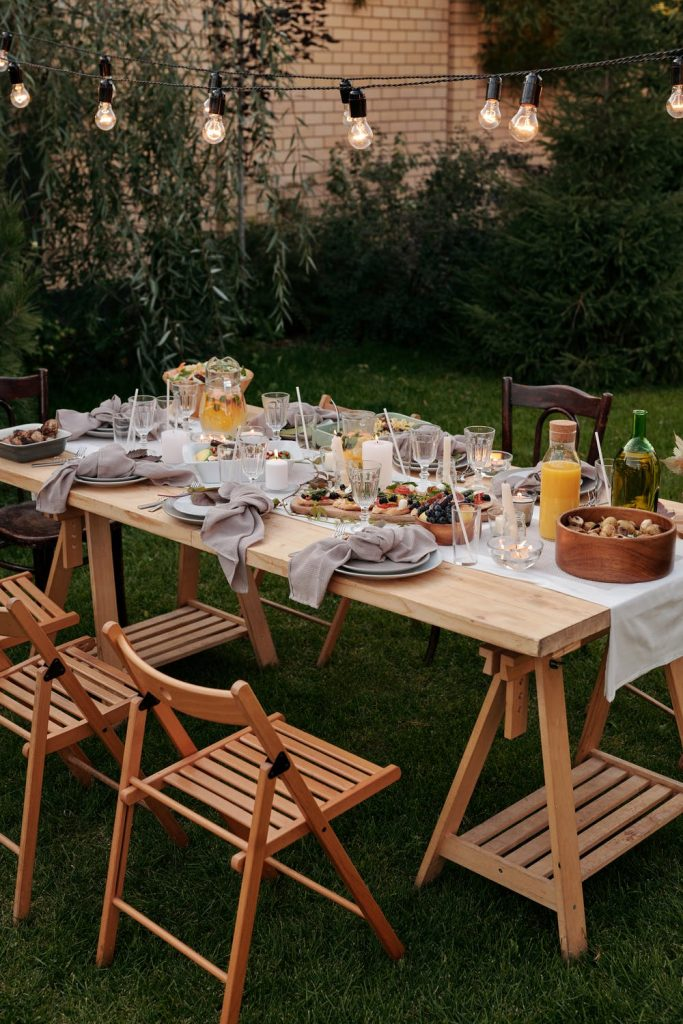 outdoor furniture made from teak